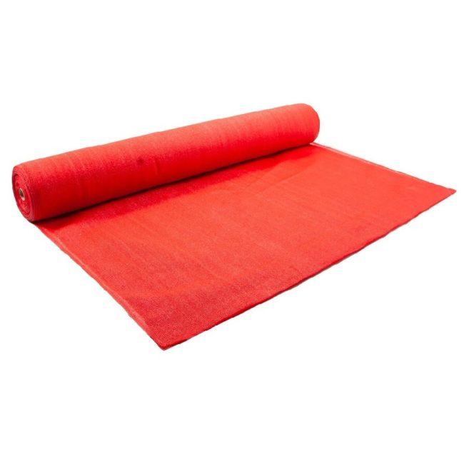 Red Shade Cloth